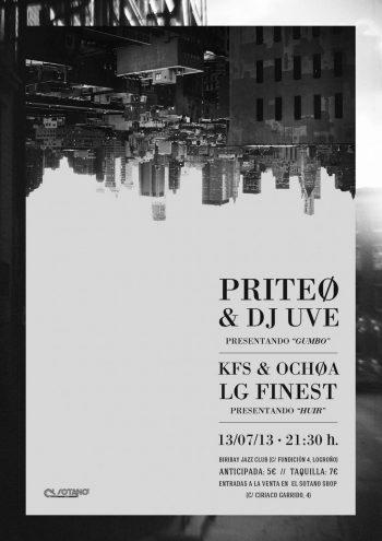 Priteo presenta Gumbo en Logroño