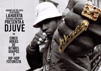 DJ UVE en La Huerta (2013)