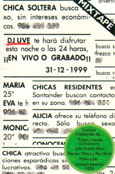 DJ UVE - Recortes de diario (1999)