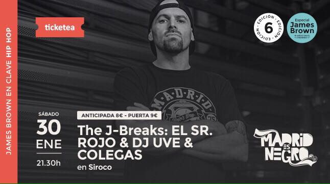 The J-Breaks: EL SR. ROJO & DJ UVE & COLEGAS