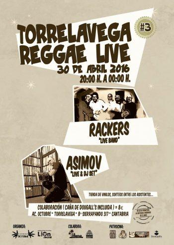 Asimov y Rackers en Torrelavega Reggae Live 3