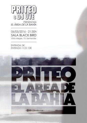 Cartel de presentación del Área de la Bahía, de Priteo