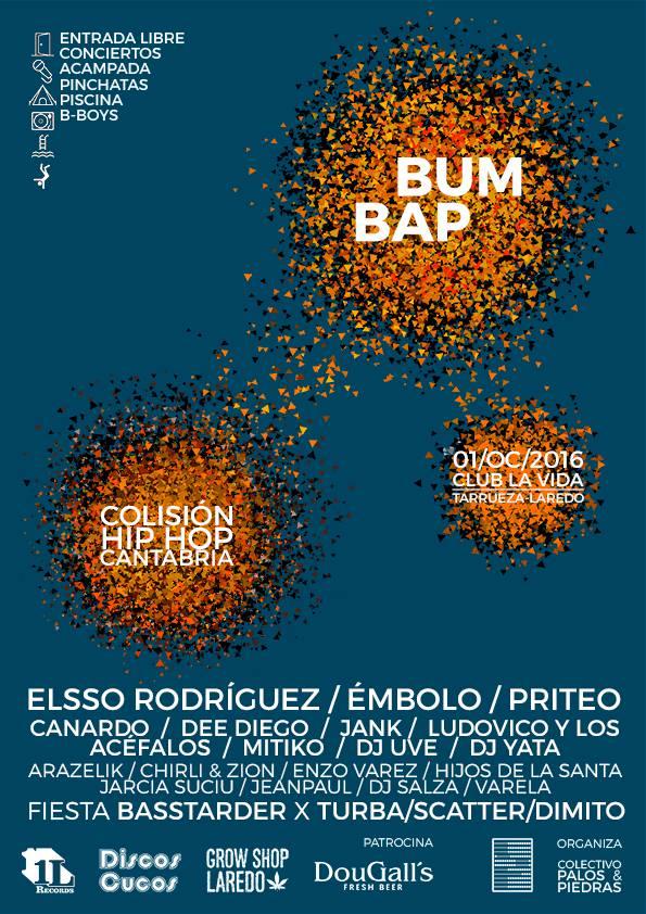 Cartel del Festival Bum Bap