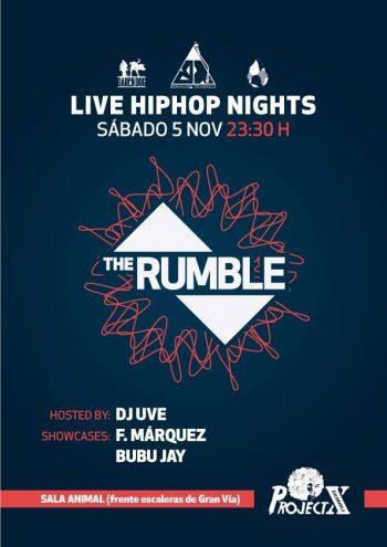 DJ UVE @ The Rumble (Salamanca)