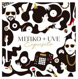 """Portada de UVE + Mítiko """"Exquisito"""", diseñada por Kaikoo Studio"""