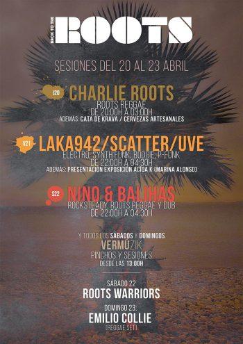 Laka942, Scatter y UVE en el cartel del Roots Santander