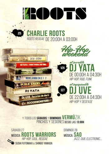 Hip-Hop Weekend - DJ Yata - DJ UVE