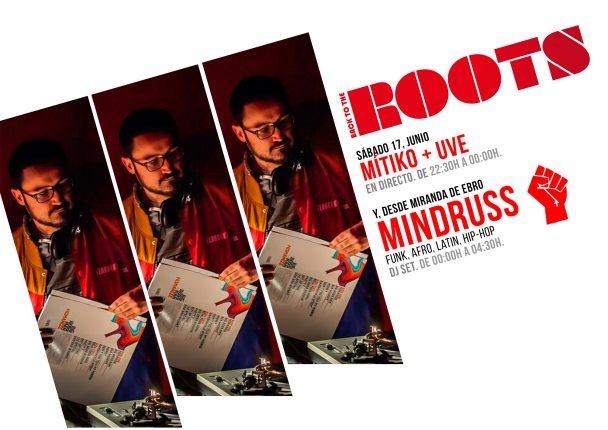 Sesión de Mindruss en el Roots tras la presentación del vídeo de Exquisito