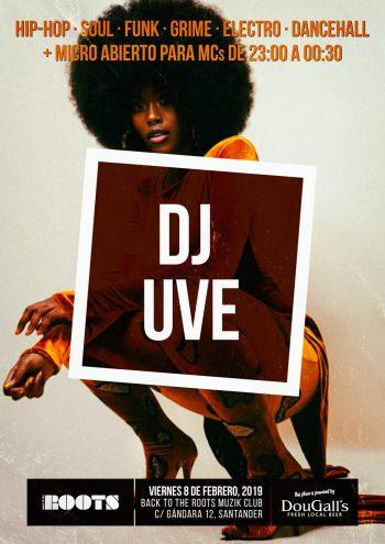 Micro abierto mensual con DJ UVE