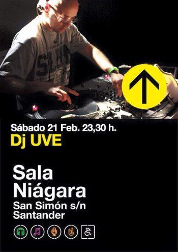 DJ UVE @ Sala Niágara