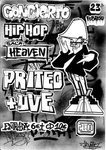 Concierto Priteo y DJ UVE