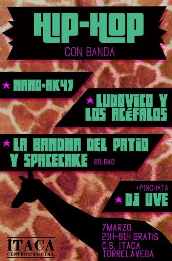 Fiesta Hip-Hop con banda