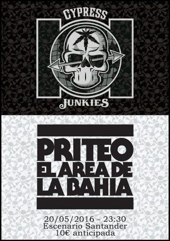 En directo: Cypress Junkies y Priteo con DJ UVE