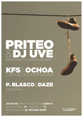 Priteo y DJ UVE en directo en Logroño