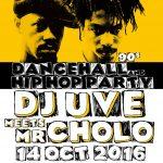DJ UVE meets Mr. Cholo: Hip-Hop y Dancehall 90's en León