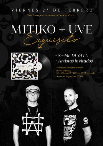Mítiko y UVE: Presentación de Exquisito en Santander
