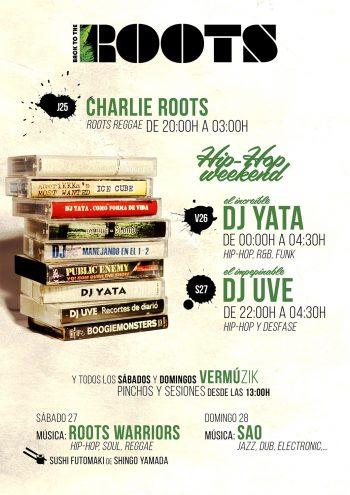 Hip-Hop Weekend - DJ Yata - DJ UVE