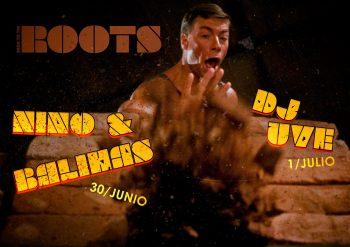 Nino & Balihas y DJ UVE rompiendo ladrillos