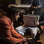 Cool-Z con DJ Yata en el estudio G&G