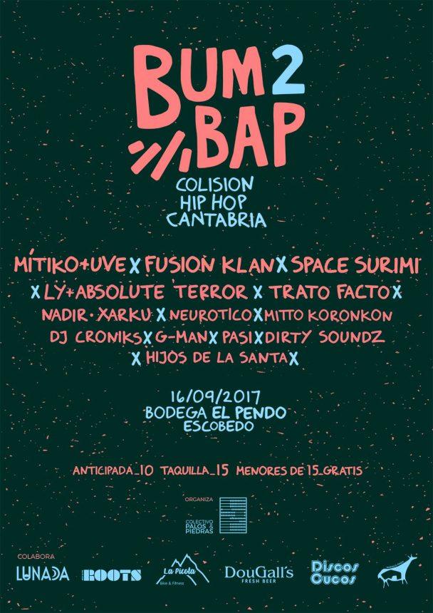 Festival Bum Bap 2 - Colisión Hip-Hop Cantabria