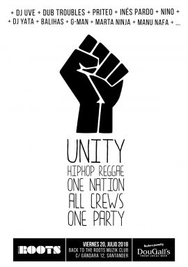 UNITY: Hip Hop / Reggae / One Nation / All Crews / One Party