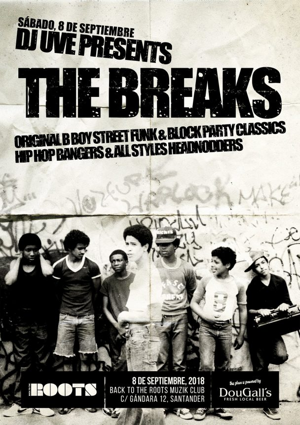 DJ UVE presents The Breaks
