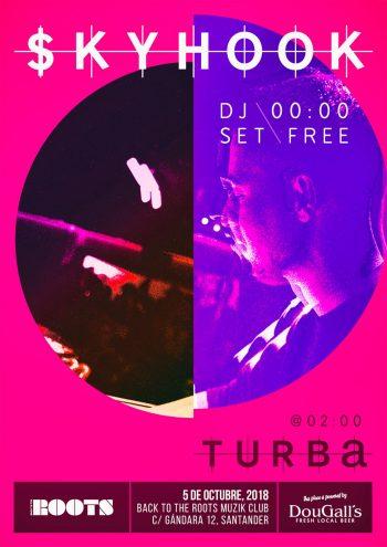 $kyhook (DJ set) + Turba
