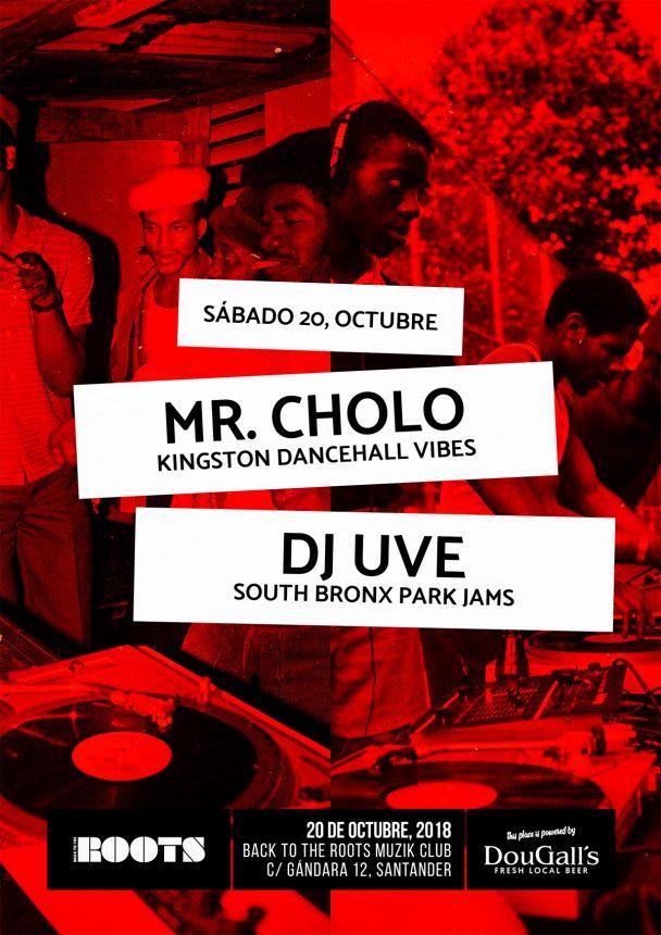 De Kingston al South Bronx con Mr. Cholo y DJ UVE