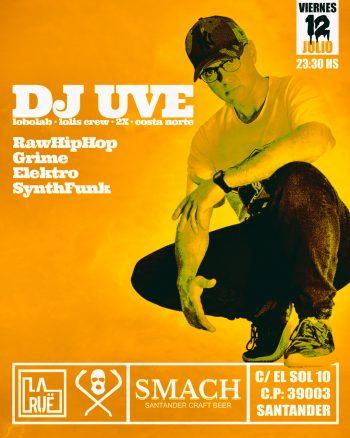 DJ UVE en La Ruë