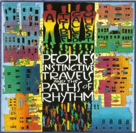 Portada de People's Instinctive Travels and the Paths of Rhythm, 1990