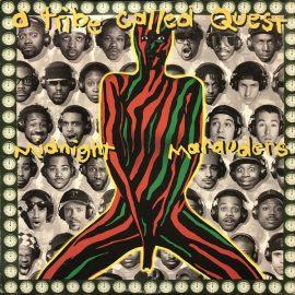 Portada de Midnight Marauders, de A Tribe Called Quest, 1993